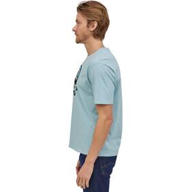 Patagonia Fitz Roy Scope Organic T-Shirt Men, big sky blue
